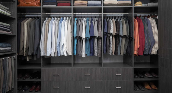 Accessories Like Jewelry Trays, Premium Hanging Rods And Angled Shoe  Shelves Are Just The Beginning Of Your Custom Closet Design!